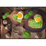 Декупажная карта «Полезный завтрак»