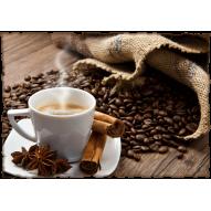 Декупажная карта «Ароматный кофе»