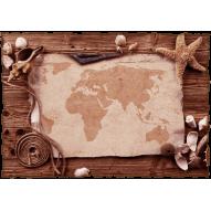 Декупажная карта «Карта»