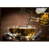 Декупажная карта «Чайная церемония»
