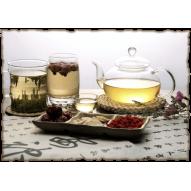 Декупажная карта «Любителям чая»