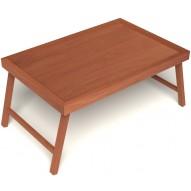 Столик для завтрака в постель цвет вишня