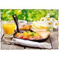 Декупажная карта «Английский завтрак»