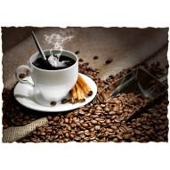 Декупажная карта «Горячий кофе»