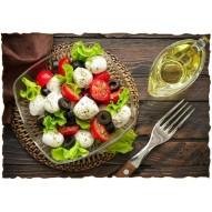 Декупажная карта «Греческий завтрак»