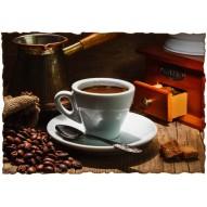 Декупажная карта «Кофе по-турецки »