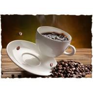 Декупажная карта «Кофейный аромат»