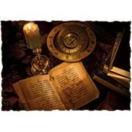 Декупажная карта «Магическое заклинание»