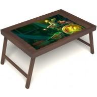 Столик для завтрака в постель «Минуты волшебства» без ручек цвет орех