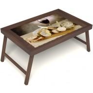 Столик для завтрака в постель «Апперетив» без ручек цвет орех