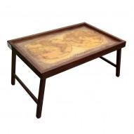 Столик для завтрака в постель «Карта Мира»