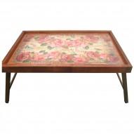 Столик для завтрака в постель «Розовая Симфония»