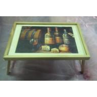 Столик для завтрака в постель «Винный погребок»