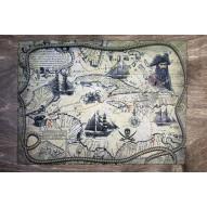 Столик для завтрака в постель «Русская берёза», «Пиратская карта»