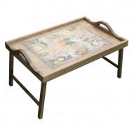 Столик для завтрака в постель с ручками «Цитрусовый рай»